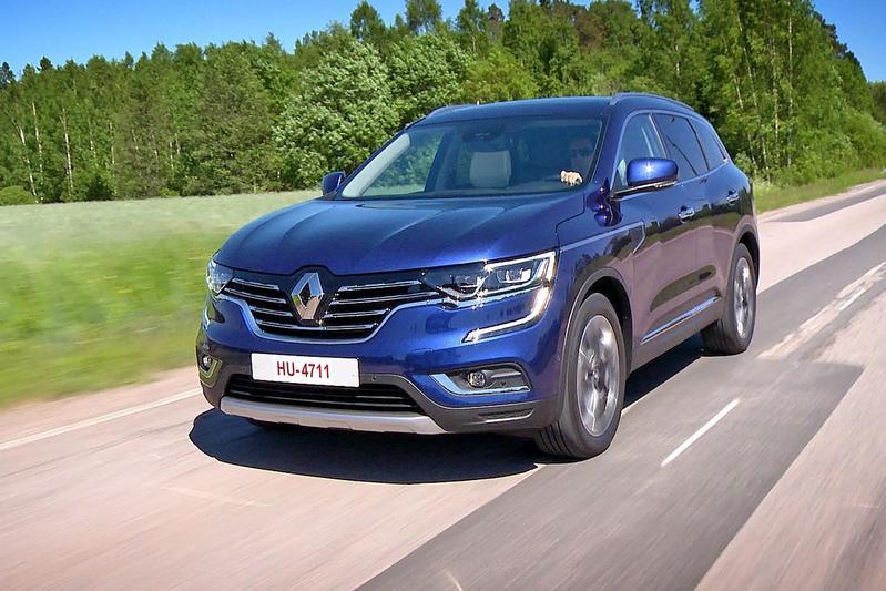 Renault Koleos - Rij-impressie