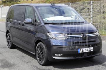 Volkswagen Multivan 'T7' doet zijn rondjes