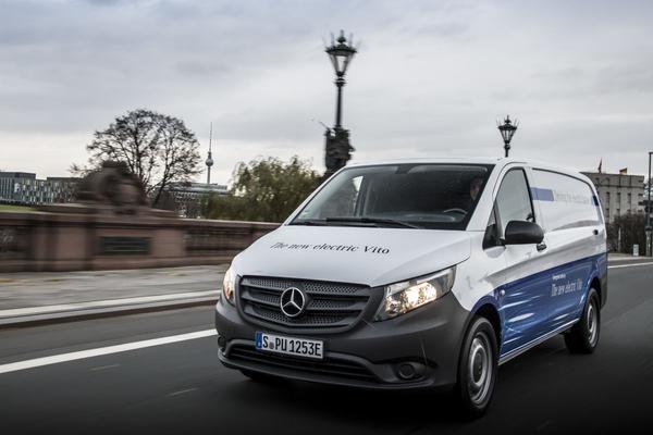 Mercedes-Benz eVito gepresenteerd