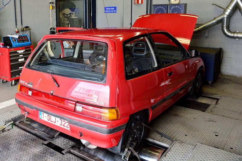 Op de Rollenbank - Daihatsu Charade GTti
