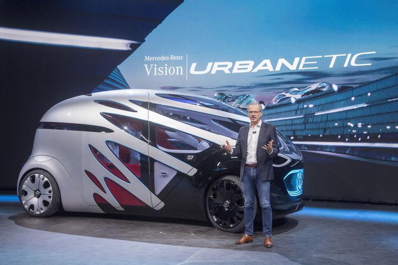 Mercedes-Benz Vans onthult Vision Urbanetic