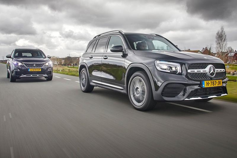 Mercedes-Benz GLB vs. Peugeot 5008 - Dubbeltest