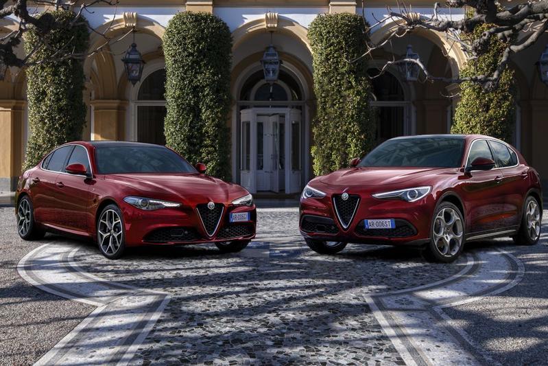 Alfa Romeo Giulia en Stelvio 6C 2500 Villa d'Este