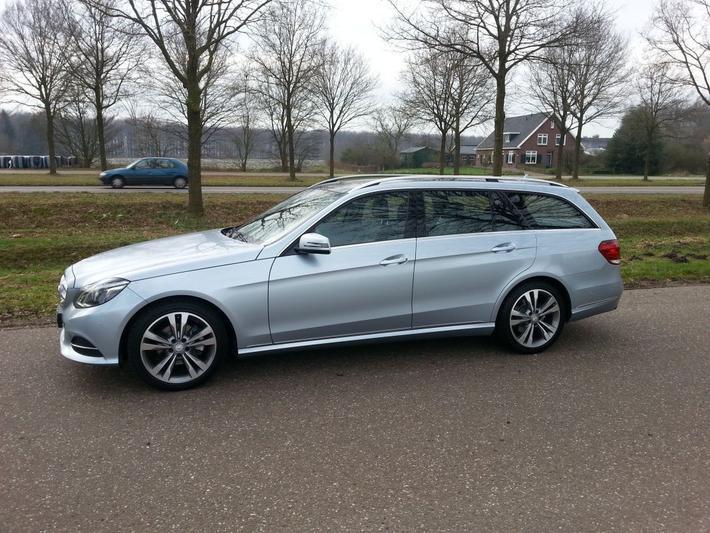 Mercedes-Benz E 200 CDI BlueEFFICIENCY Estate Avantgarde (2013)