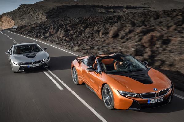 Prijzen vernieuwde BMW i8 bekend