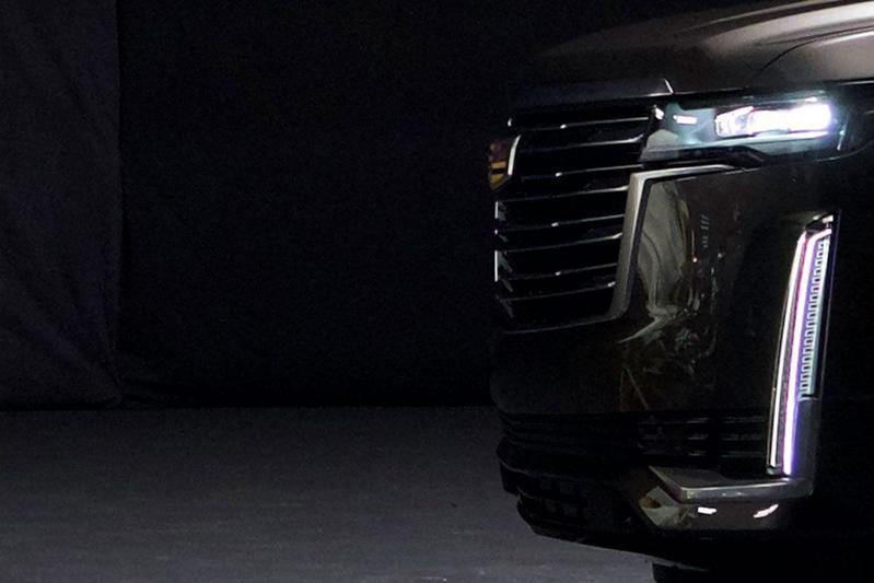 Cadillac Escalade teaser