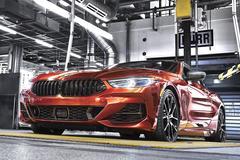 Productie BMW 8-serie komt op gang