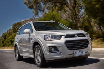 Holden Captiva ondergaat kleine facelift