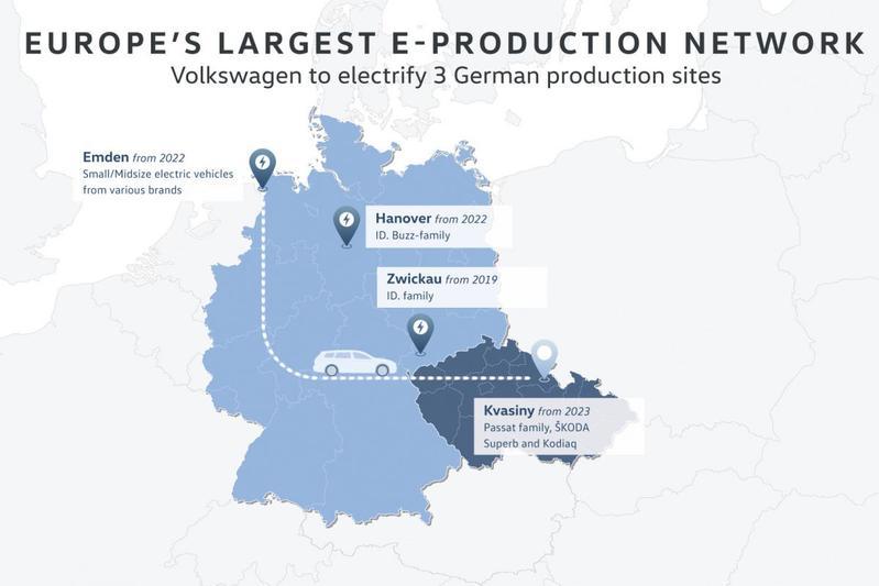 Volkswagen fabrieken Europa plan