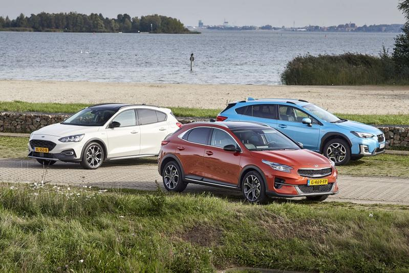 Kia XCeed - Ford Focus Active - Subaru XV - Triotest