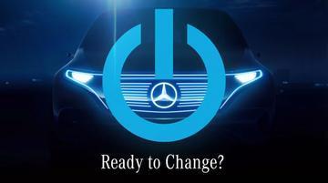 Mercedes Benz plaagt met elektrische concept