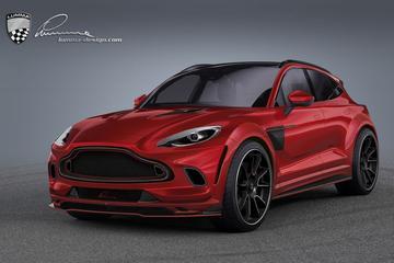 Aston Martin DBX ontmoet Lumma Design