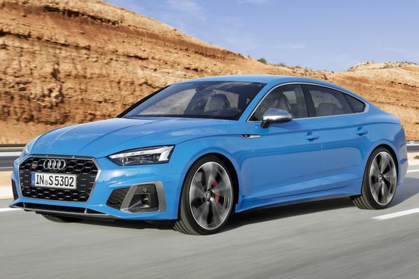 Audi presenteert de gefacelifte A5