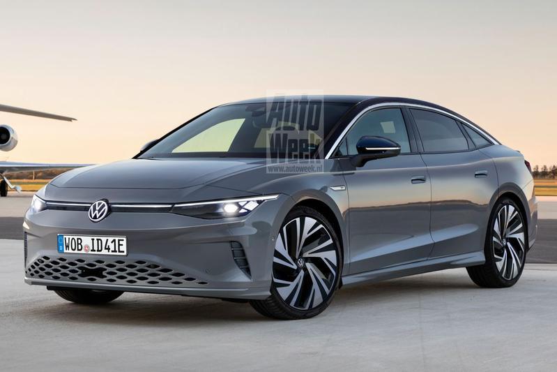 Volkswagen ID Aero (illustratie: Larson)