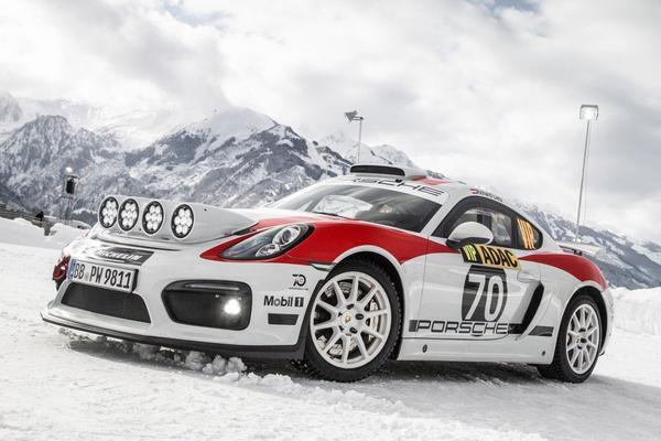 Porsche Cayman GT4 Rallye Concept gepresenteerd