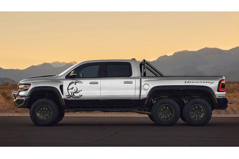 Hennessey Performance RAM 1500 TRX Mammoth 6x6