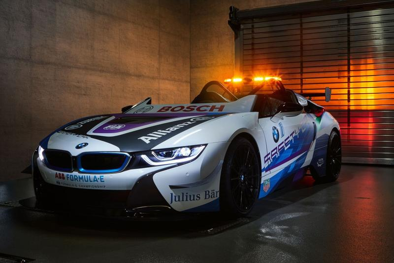 BMW i8 Roadster Formula E Championship safety car