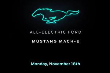 Elektrische Ford heet Mustang Mach-E