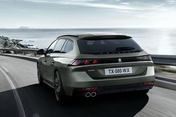 Peugeot 508 SW ontvangt prijskaartjes