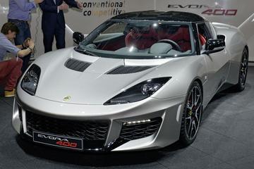 Lotus Evora 400 komt ook zonder dak
