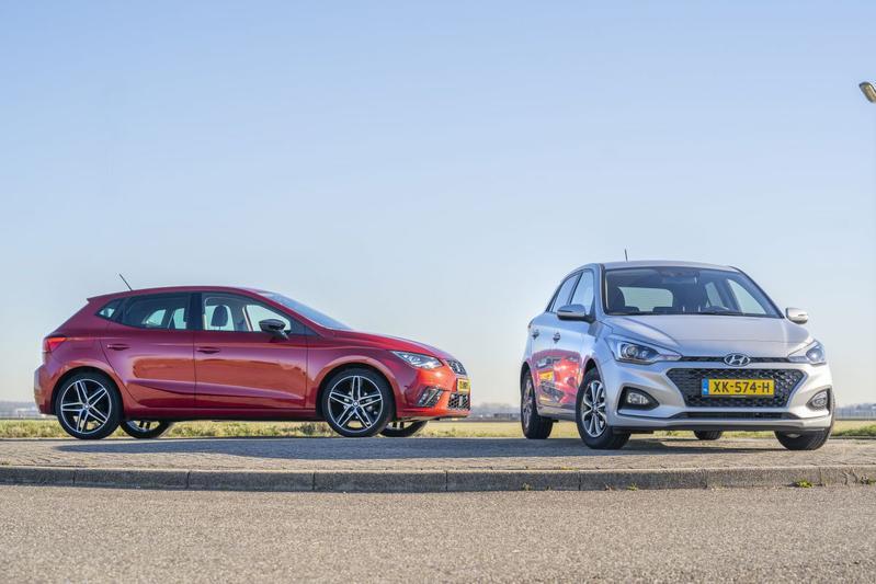 Hyundai i20 - Seat Ibiza - Dubbeltest