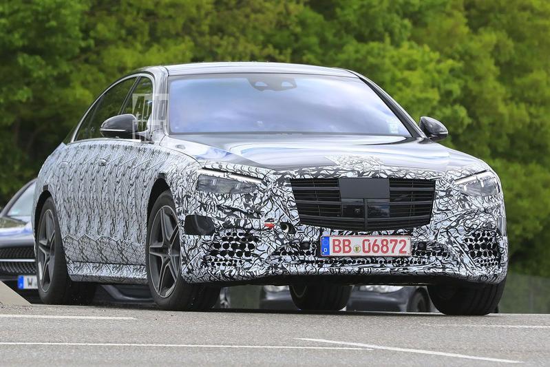 Spyshots Mercedes-Benz S-klasse