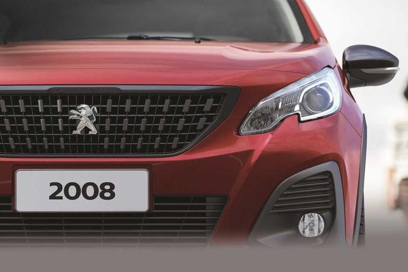 Peugeot 2008 facelift Zuid-Amerika