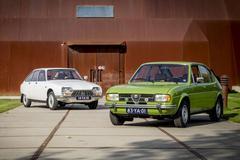 Classics - Alfasud (1977) en Citroën GS (1973)