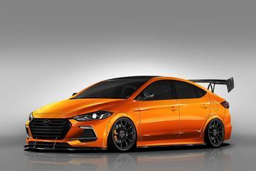 Hyundai Elantra klaargestoomd voor Las Vegas