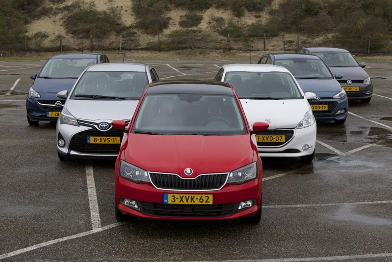 Skoda Fabia - Hyundai i20 - Toyota Yaris - Opel Corsa - VW Polo - Peugeot 208