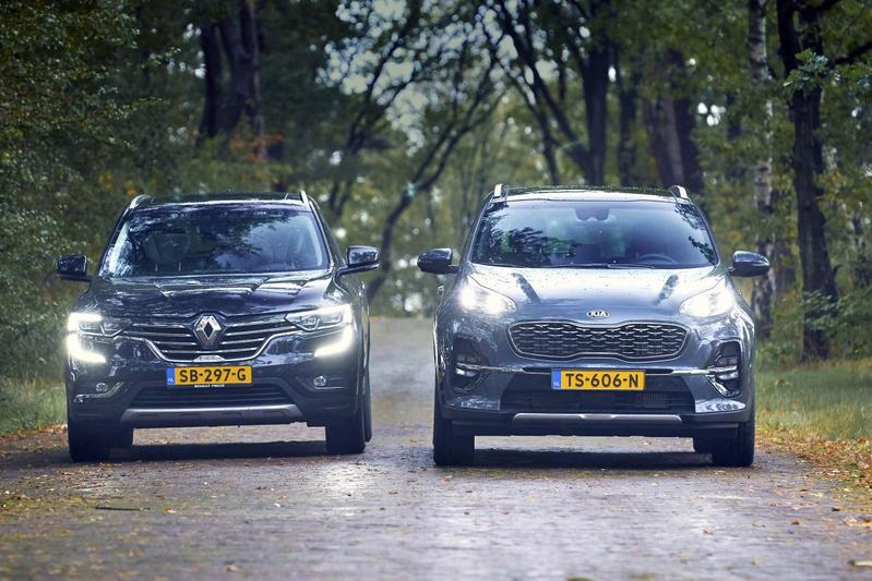 Kia Sportage - Renault Koleos
