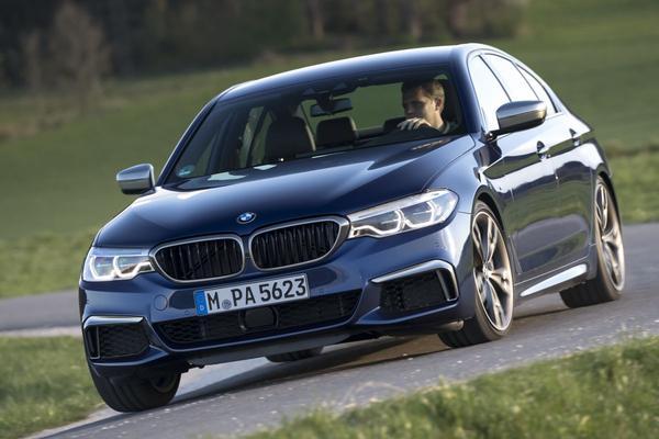 'BMW M550i krijgt V8 uit M850i'