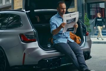 BMW M3 Touring al deels te zien