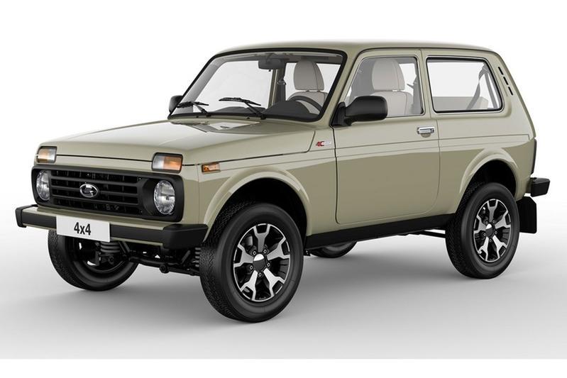 Feestvarken: Lada 4x4 40th Anniversary