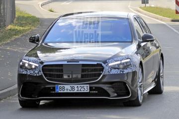 Nieuwe Mercedes-Benz S-klasse bijna geheel te zien