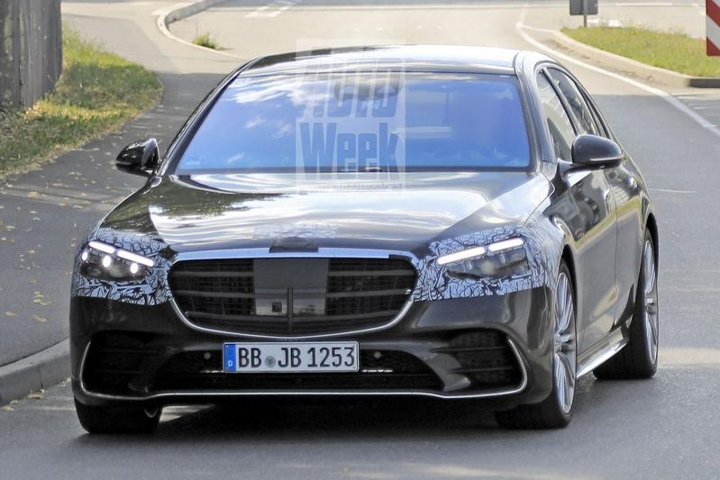 Mercedes-Benz S-klasse spionage
