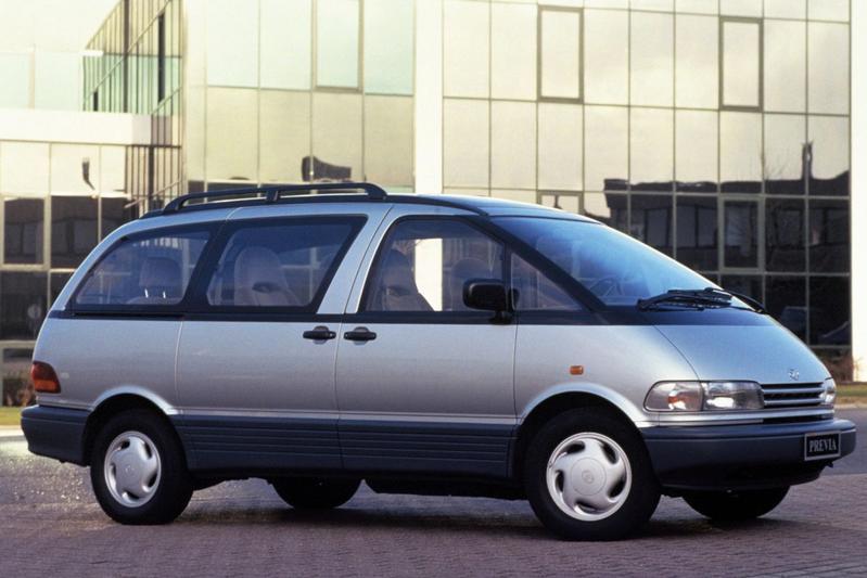 Afgestoft: Toyota Previa