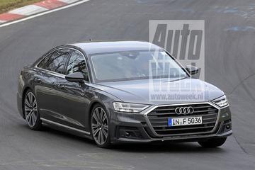 Gesnapt: nieuwe Audi S8