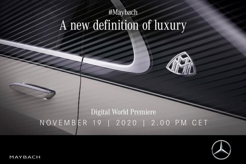 Teaser Mercedes-Maybach S-klasse