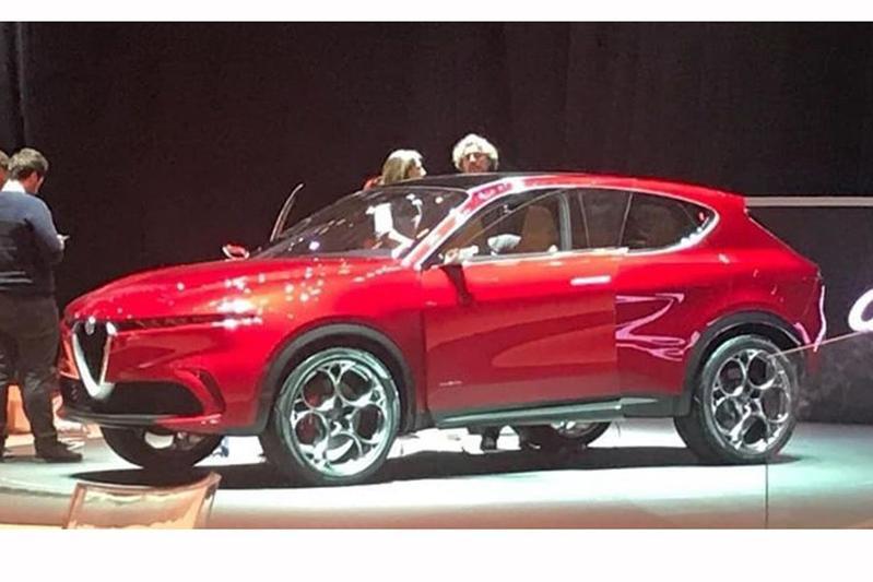 Alfa Romeo Concept gelekt