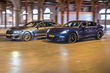BMW M850i xDrive Gran Coupé vs. Porsche Panamera GTS - Dubbeltest