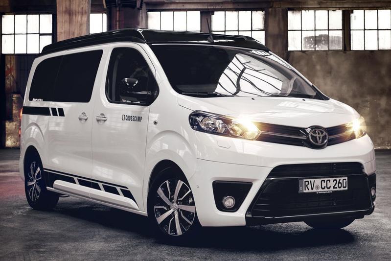 Toyota Proace Crosscamp camper