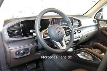 Nieuwe Mercedes-Benz GLE-klasse vanbinnen