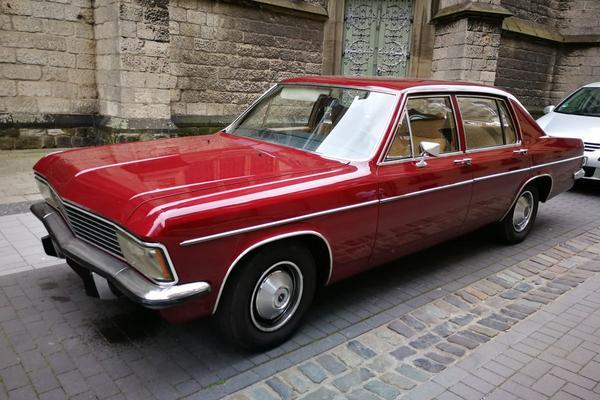 In het Wild: Opel Admiral (1975)