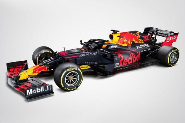 Dit is de nieuwe F1-auto van Max Verstappen