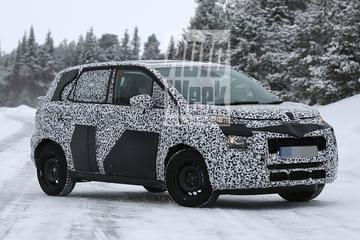 Gesnapt: nieuwe Citroën C3 Picasso