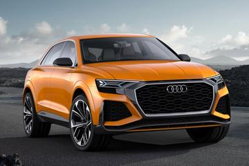 Audi Q8 Sport Concept is los