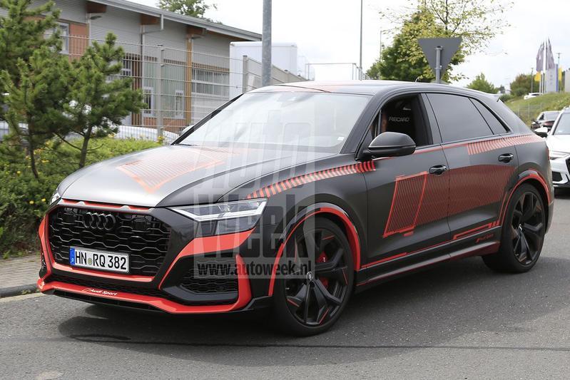 Spyshots Audi RS Q8
