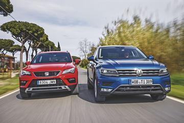 Eerste confrontatie: Seat Ateca vs. Volkswagen Tiguan