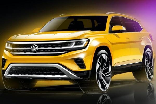 Volkswagen schetst gefacelifte Atlas